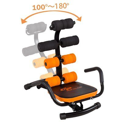 Adjustable Ab Workout Incline Equipment Rocket Exercise Trainer Chair Abdominal