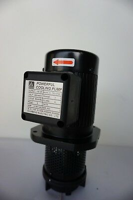 "1/8 HP Filtered Coolant Pump, 220V/440V, 3PH, 100mm (4"") 3/8"" NPT, TC-8100"