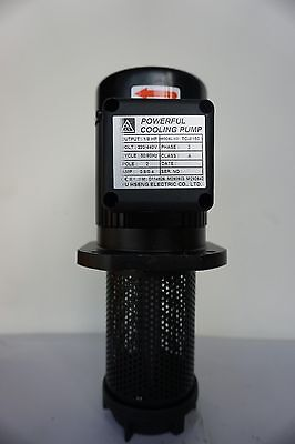 "1/8 HP Filtered Coolant Pump 8150, 220V/440V, 3PH, 150mm (6""), 3/8"" NPT"