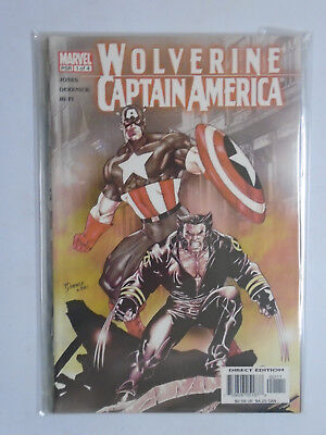 Wolverine Captain America #1-4, Direct Edition, 8.0/VF, (2004)