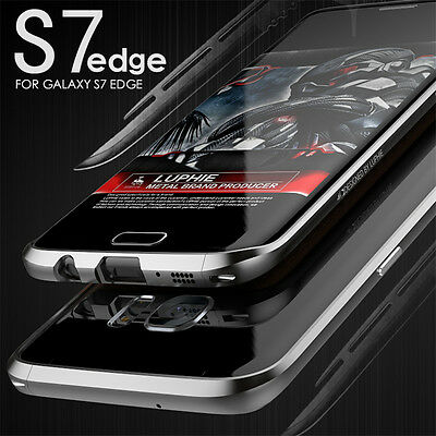 Genuine Luphie Aluminum Metal Bumper Frame Case For Samsung Galaxy S7 Edge /S8 +
