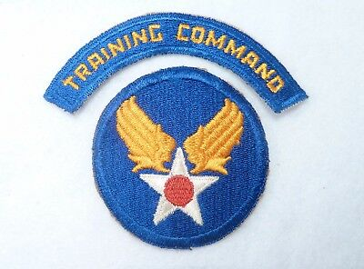 Nice Set of Original WWII USAAC Training Command Patches