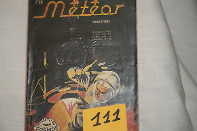 Météor (111) n°183--la menace-BE-1972