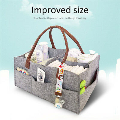 Baby Diaper Caddy Infant Nursery Organizer Nappy Basket Maternity Mother Supply