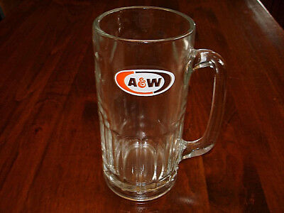 Vintage A&W Root Beer Glass Mug - New Old Stock