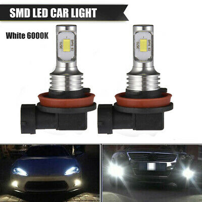 2x100W CREE 5202 H16 6000K Xenon White LED Fog Lights Driving Bulbs For Dodge