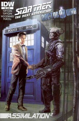 Star Trek The Next Generation Doctor Who Assimilation 2 #6 IDW