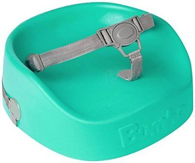 Bumbo Booster Seat Aqua 18 Months to 3 Years 3 Point Belt