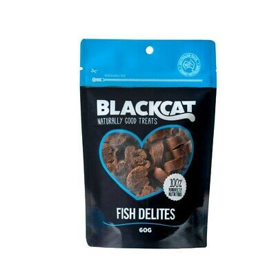 New Blackcat 60g Fish Delites