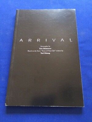 Arrival: For Your Consideration Script - By Eric Heisserer