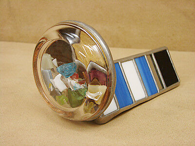Kaleidoscope Vintage Stained and Cracked Glass