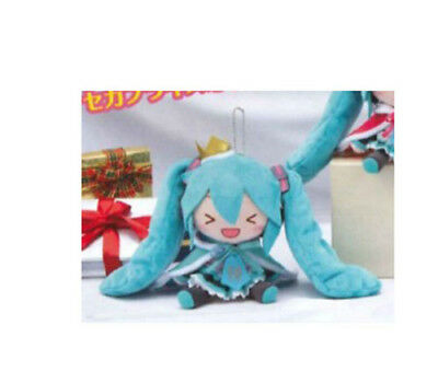 NEW Sega Hatsune Miku 10th Anniversary Excited Plush 15cm SEGA1022545 US Seller