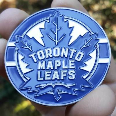 PREMIUM NHL Toronto Maple Leafs Poker Card Guard Collector Coin Golf Marker