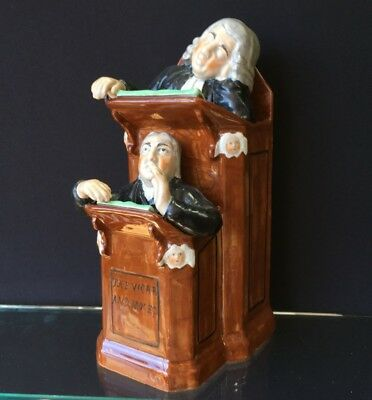 Staffordshire The Vicar & Moses figure, circa 1830