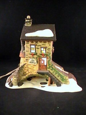 Dept 56 Heritage Dickens Village The Maltings #58335 Lighted House