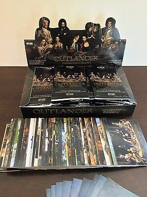 Outlander Trading Cards Season 2 Master Set with Display Box and Empty Wrappers