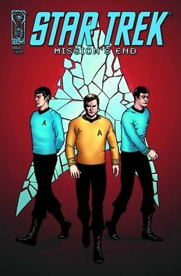 Star Trek Mission's End #1 Cover B IDW