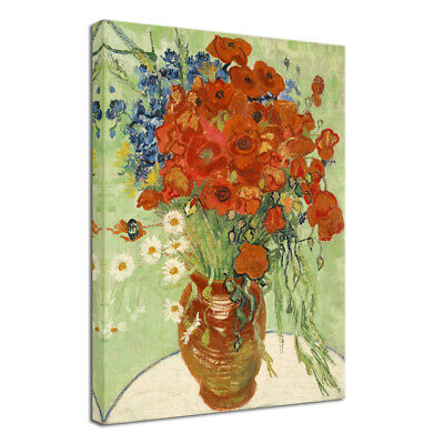 Canvas Wall Art Van Gogh Painting Print Repro Picture Home Room Decor Flowers