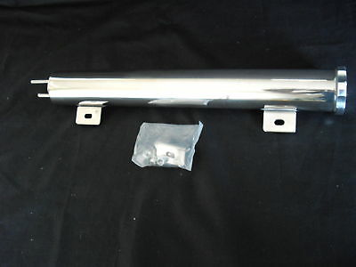 Radiator Overflow Tank Stainless Steel 16 Inch X 3 Inch