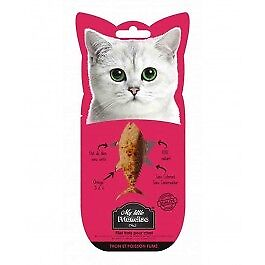 My little Friandise Filet de Thon et Poisson Fumé pour chat 30 g