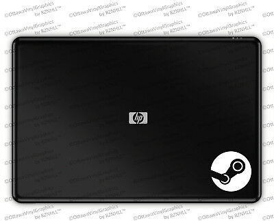 Steam Round Logo Vinyl Laptop Decal