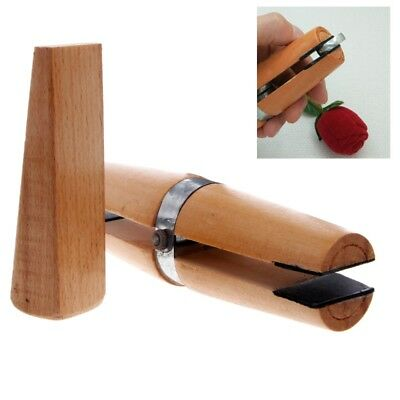 Wood Ring Clamp Jewelers Holder Jewelry Making Hand Tool Benchwork Professional