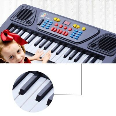 37 Keys Music Electronic Keyboard Kids Electric Piano Organ With Microphone Toys