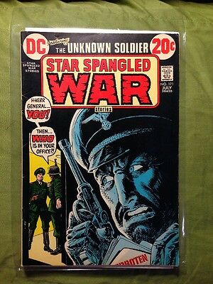 Star Spangled War Stories with The Unknown Soldier #171,  FNVF