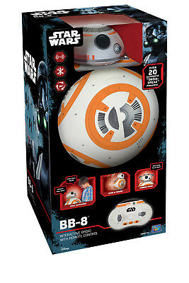 Star Wars BB-8 U-Command Interactive Droid | Remote Control, Voice Activated