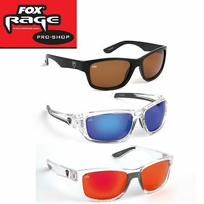 Fox Rage Sunglasses - Polarisationsbrille für Raubfischangler, Angelbrille