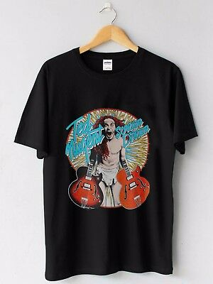New TED NUGENT Scream Dream Wango Tango Tour 1980 Vintage Concert Custom Tshirt