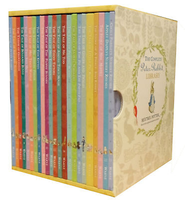 Beatrix Potter The World of Peter Rabbit Collection 23 Books Box Gift Set