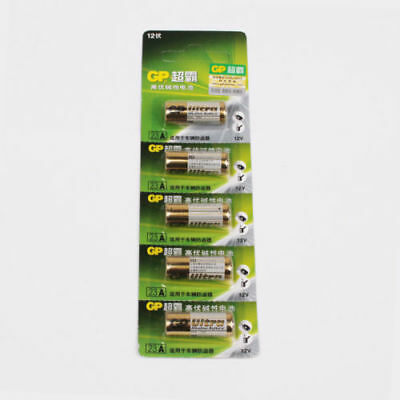 1CARD/5x A23 ALKALINE BATTERY 23AE 23A MN21 E23A K23A SINGLE USE BATTERIES GIFT