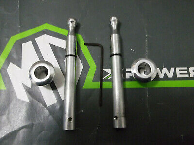 MGTF MG TF Upgraded Alloy Door Locking Pins With Eschusions Kit Brand New
