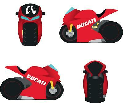 Ducati Cartoon Motorbike Money Box