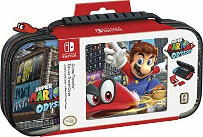 Super Mario Odyssey Nintendo SWITCH Custodia Deluxe Big Ben BIGBEN INTERACTIVE