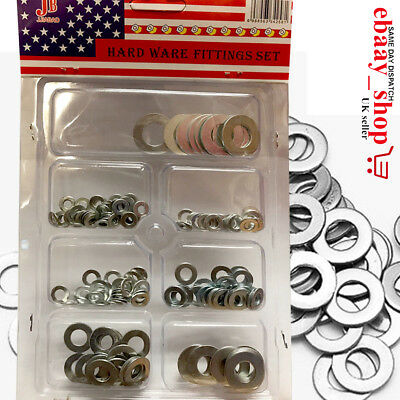 Flat Washers Set Metric Bolts Washers Screws Bolt Stainless Steel Flat Washers