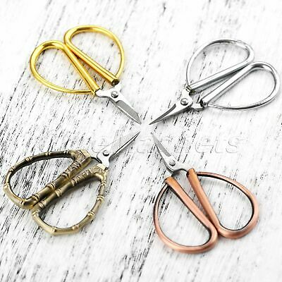 Mini Retro European Stainless Steel Scissors Fabric Sewing Tailor Sewing Forfex