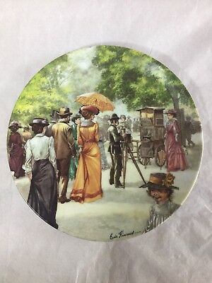 Lovely Royal Worcester Good Old Days Plate The Photographer Signed