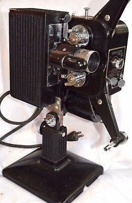 Eastman Kodak Kodascope Model G 16mm Film Movie Projector - WORKING!