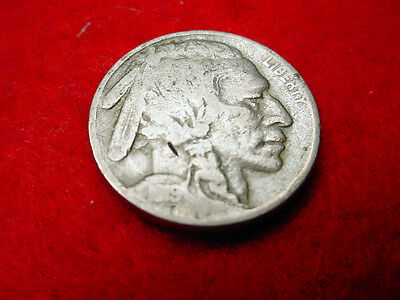 1919 Buffalo Nickel Nice Coin!!    #9