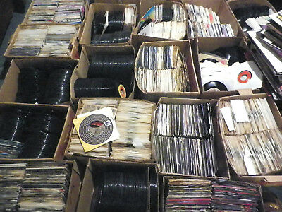 Awesome Lot Of 1950's 1960's 45Rpm- 50 Records Per Lot-  Vinyl Jukebox-