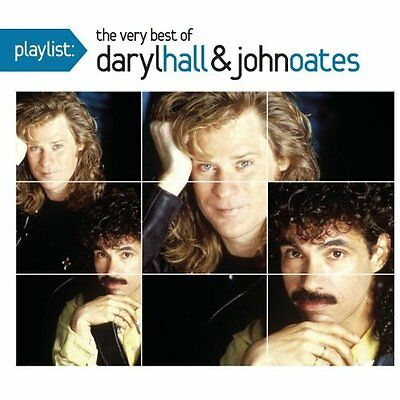 Playlist: The Very Best of Daryl Hall & John Oates CD NEW SEALED