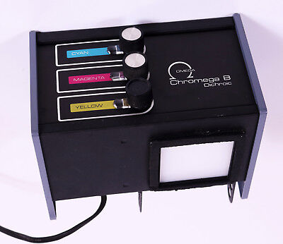 Omega Chromega B Dichroic Color Enlarger Head Lamp House mixer