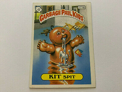 1987 UK Garbage Pail Kids 5th Series 171b KIT Spit : Head with Arm Puzzle Piece