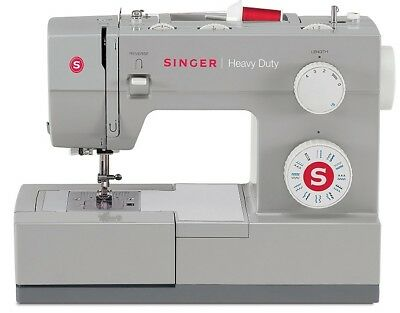 Heavy Duty Singer Portable Sewing Machine Leather Upholstery Denim 23 Stitches