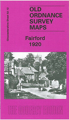 Old Ordnance Survey Map Fairford 1920