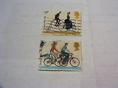 Gb Cycling 1978 Stamps