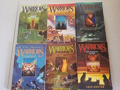 Warriors Box Set: Volumes 1 to 6: The Complete First Series Erin Hunter