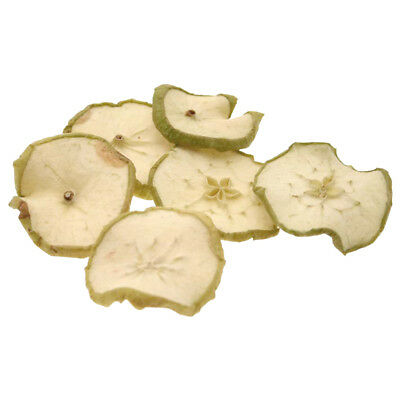 DRIED GREEN APPLE SLICES 250g CHRISTMAS WREATHS GARLANDS HOME CRAFTS SKU 4053